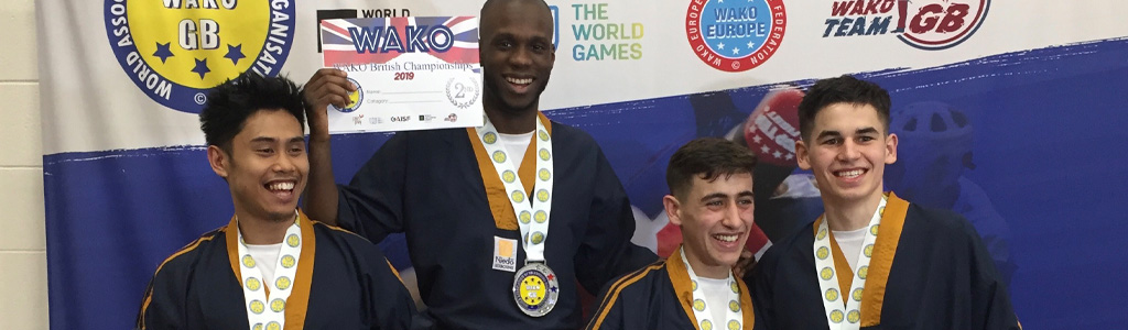 NIEDO INSTRUCTORS WIN AT THE WAKO BRITISH NATIONAL CHAMPIONSHIPS!